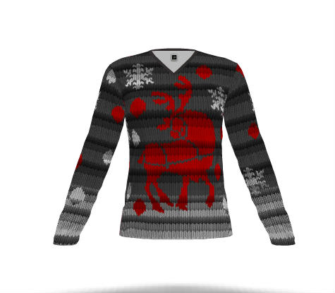 christmas sweater vintage reindeer shirts - Custom Christmas Sweater