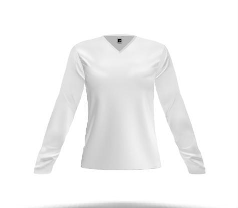 73e9a1de1b10 Design your own Women's V Neck, Long Sleeve T-shirt and get it ...