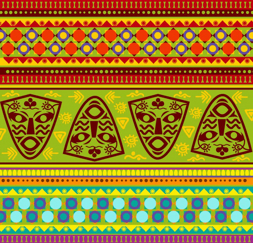 Картинки этнические узоры, днем рождения открытка