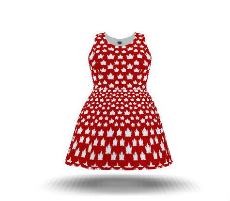 Canada Dress Cute Canada Plus Size Dresses Custom Fit N Flare